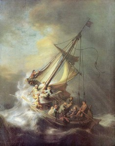 Stjålet Rembrandt maleri
