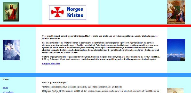 Faksimile fra Norgeskristne.no